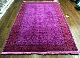 pink overdyed rugs pink rug hot pink rug wool hot pink rug overdyed hot pink rug