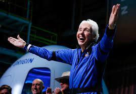 Pioneering female aviator Wally Funk is ...