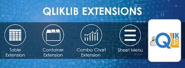 Qliklib Qlik Sense Extension Library