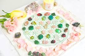Crystal Grid Patterns Gorgeous Crystal Grid How To Make Your Own Crystal GridsEnergy Muse Blog