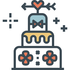 Wedding Cake Icon At Getdrawingscom Free Wedding Cake Icon Images
