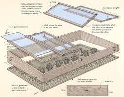 the plan a materials list and instructions for building this cold frame