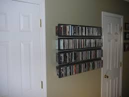 cd dvd wall shelves