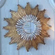 diy gold sunburst mirror for wall accessories ideas