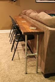 Sofa Table Diy Best 25 Long Sofa Table Ideas On Pinterest Diy Sofa Table Very