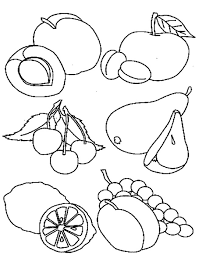 Small Picture Healthy Food Coloring Pages The Good Healthy Food Coloring Page
