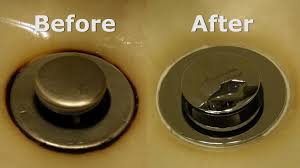 How To Clean Rust Stains Removing A Rust Stain From A Sink Youtube