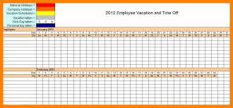 Employee Time Off Tracking Spreadsheet 9 Employee Time Off Tracking Template This Is Charlietrotter