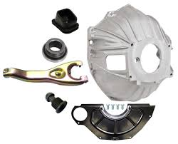 NEW CHEVY BELLHOUSING KIT,COVER,CLUTCH FORK,THROWOUT BEARING,GM ...