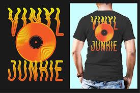 Designer Junkie Shirt T Shirt Design Music Vinyl Vinyl Junkie On Behance