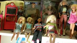 barbie and ken catch a falling star in front of dorothy and glinda from oz you see some of the recycled goodwill barbies that i bought naked and abandoned cleaned and dressed