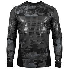 Venum Tactical Long Sleeve T Shirt Black Black