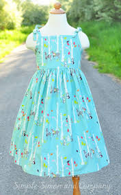 Easy Girls Dress Pattern