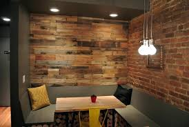 distressed wood paneling wall reclaimed barn panel easy l and stick