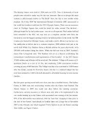 london case studie proyect management case 4 the beijing games