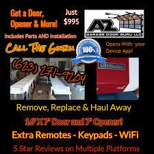 best garage door installation in peoria glendale and phoenix az