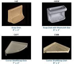 recessed bathroom ceramic soap dishes jpg