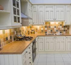 White Cabinets Backsplash Cool Primitive Backsplash Ideas With White Cabinets And Brown