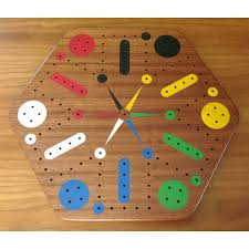 Wooden Peg Board Game Wood Fast Track Aggravation Game Board With Pegs 50
