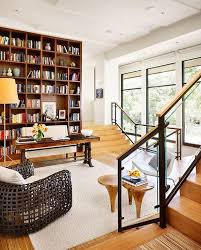 office library design. A Home Office/library Doesn\u0027t Necessarily Have To Be An Enclosed Room Office Library Design E