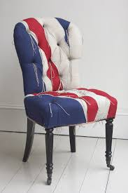 salon flag chair