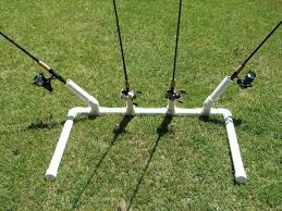 diy surf fishing rack rod holder image pvcpipeandtubing com