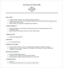 Resume Template Excel Excel Resume Template Doctor Free Word Cv