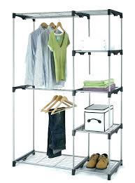clothing rack for closet clothing rack with shelves closet organizer storage rack portable clothes hanger home