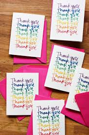 Free Downloads Thank You Cards Rainbow Thank You Cards A Free Download Thank You Cards