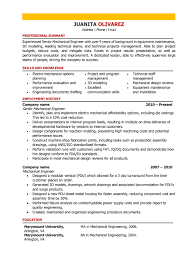 Technical Skills For Mechanical Engineer Resume Resume Template