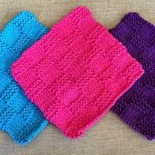 Free Knitting Patterns For Dishcloths Extraordinary 48 Knit Dishcloth Patterns For Beginners AllFreeKnitting
