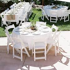 orangehome 12 pack round table cloth 84 inch plastic table cover wedding birthday party disposable table