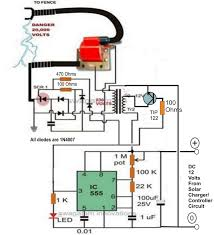 make this solar powered fence charger circuit electronic circuit the above circuit can be powered through the following solar panel current controlled battery charger circuit