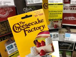 bj s deals gift card cheesecake factory