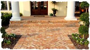 Brick Walkway Patterns Magnificent Walkways Patios Clay Brick PaversTravertine