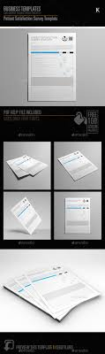 Patient Satisfaction Survey Template By Keboto | Graphicriver