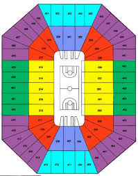 Milwaukee Bucks Detailed Seating Chart Bradley Center Seating Chart For Milwaukee Bucks Bmo