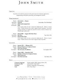 Resume Objective For First Job Whats A Good Resume Objective What Is