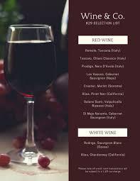 Menus Templates Free Best Customize 48 Wine Menu Templates Online Canva