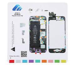 Iphone 4 Screw Chart Pdf Iphone 5 Magnetic Screw Mat