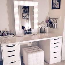 Bedroom vanity and also makeup vanity table without mirror and also ...