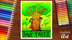 Save Trees Chart Making Archives Artistoon