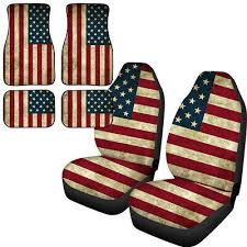 american flag universal seat covers