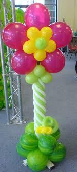 garden party balloon column no helium