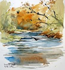 Cathy Johnson | Watercolor landscape paintings, Watercolor painting  techniques, Landscape paintings