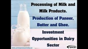 Ghee Processing Flow Chart Processing Of Milk And Milk Products
