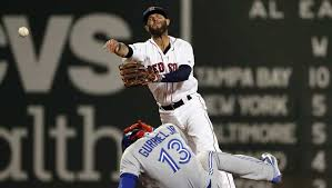 Red Sox Dustin Pedroia leaves Wednesday's game in second inning with left  knee discomfort