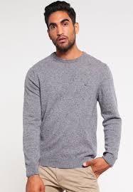 gant donegal jumper dark grey men mottled gant rugger sweater gant pea coat free delivery