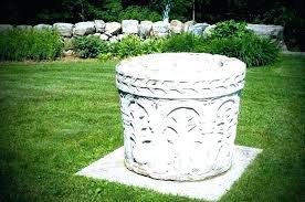 outdoor decorative well covers com garden pump water pipe