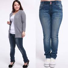 size 13 women free shipping autumn plus size pants jeans women double breasted